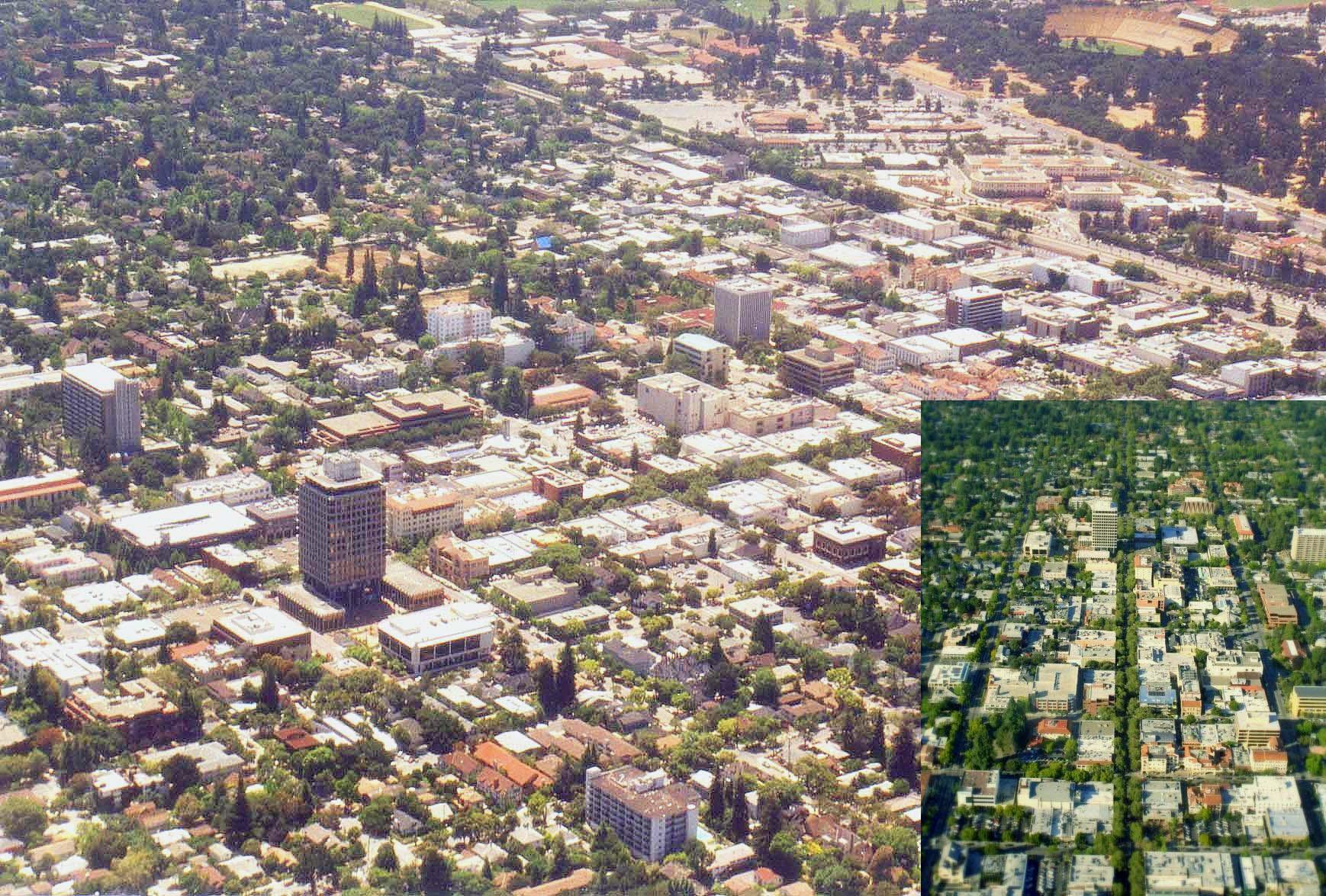 Palo Alto, California - Wikipedia - Palo Alto California Map
