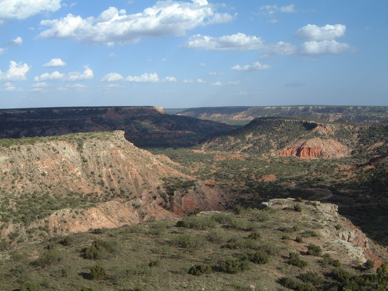 Palo Duro Canyon - Wikipedia - Palo Duro Canyon Map Of Texas