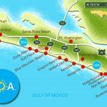 Panama City Florida Map   Panama City And Destin Florida Map