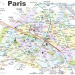 Paris Attractions Map Pdf   Free Printable Tourist Map Paris, Waking   Paris City Map Printable