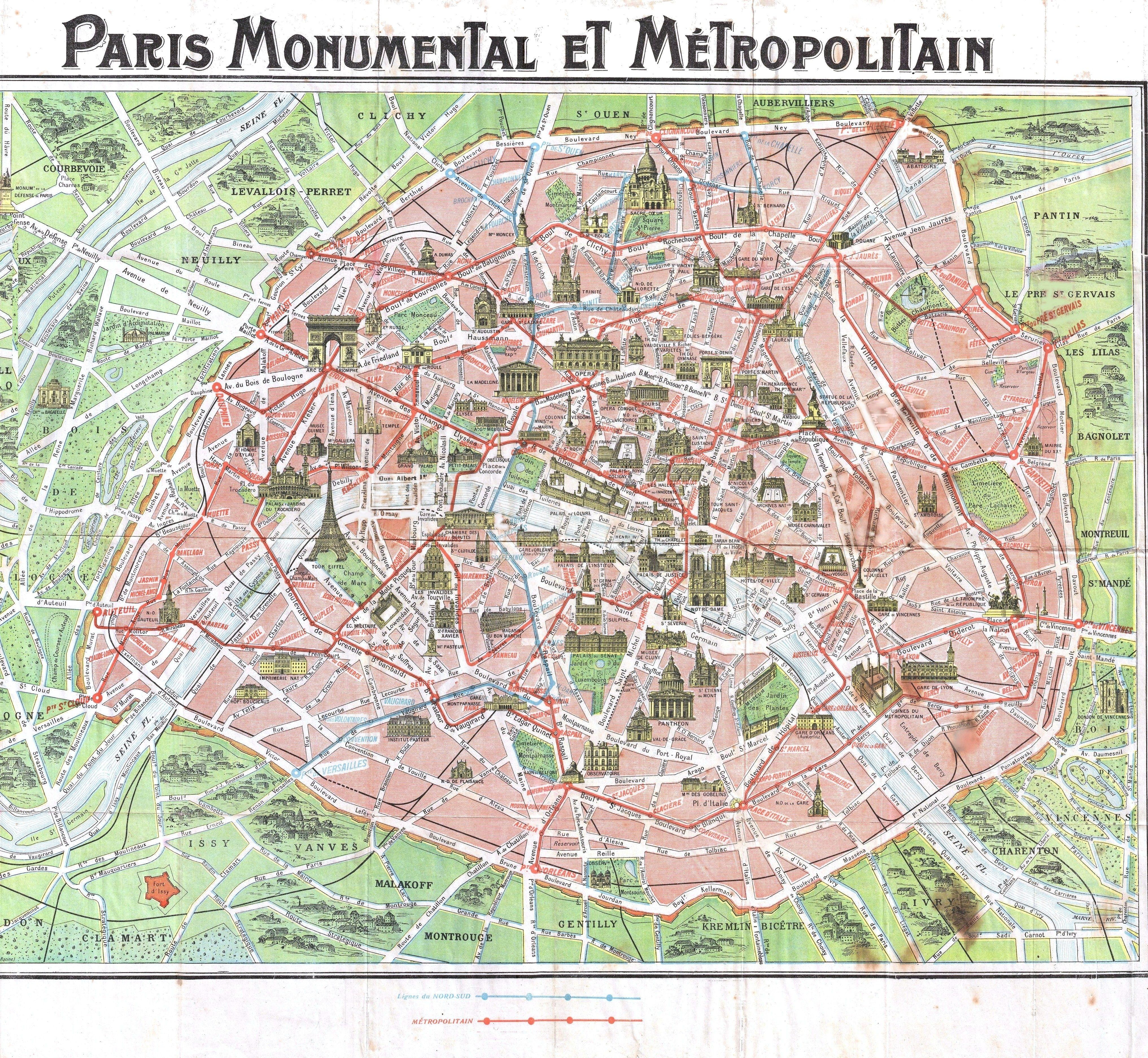 Paris Map - Free Printable | Paris | Pinterest | Éduquer, Haussmann - Free Printable Map Of Paris