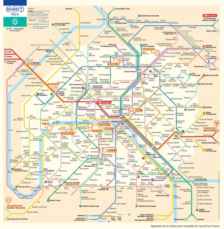 Printable Subway Map