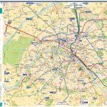 Paris Metro Map – The Redesign — Smashing Magazine   Map Of Paris Metro Printable