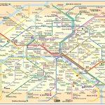 Paris Metro Maps Plus 16 Metro Lines With Stations   Map Of Paris Metro Printable