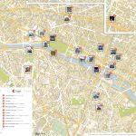 Paris Printable Tourist Map | Sygic Travel   Paris City Map Printable