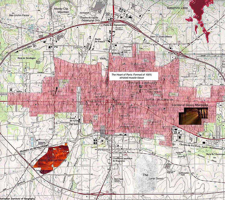 Paris - Texasjohn Adams - Paris Texas Map