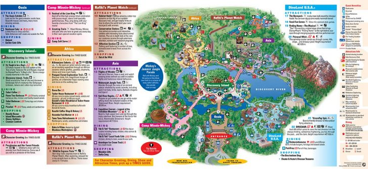 Disney Florida Map