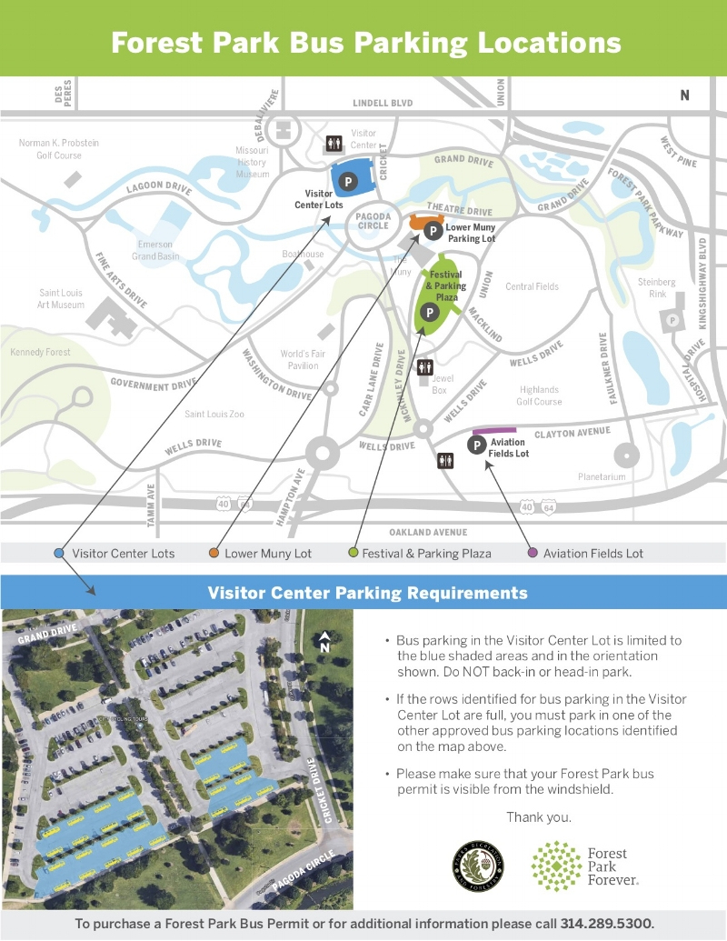 Park Navigation — Forest Park Forever - Forest Park St Louis Map Printable