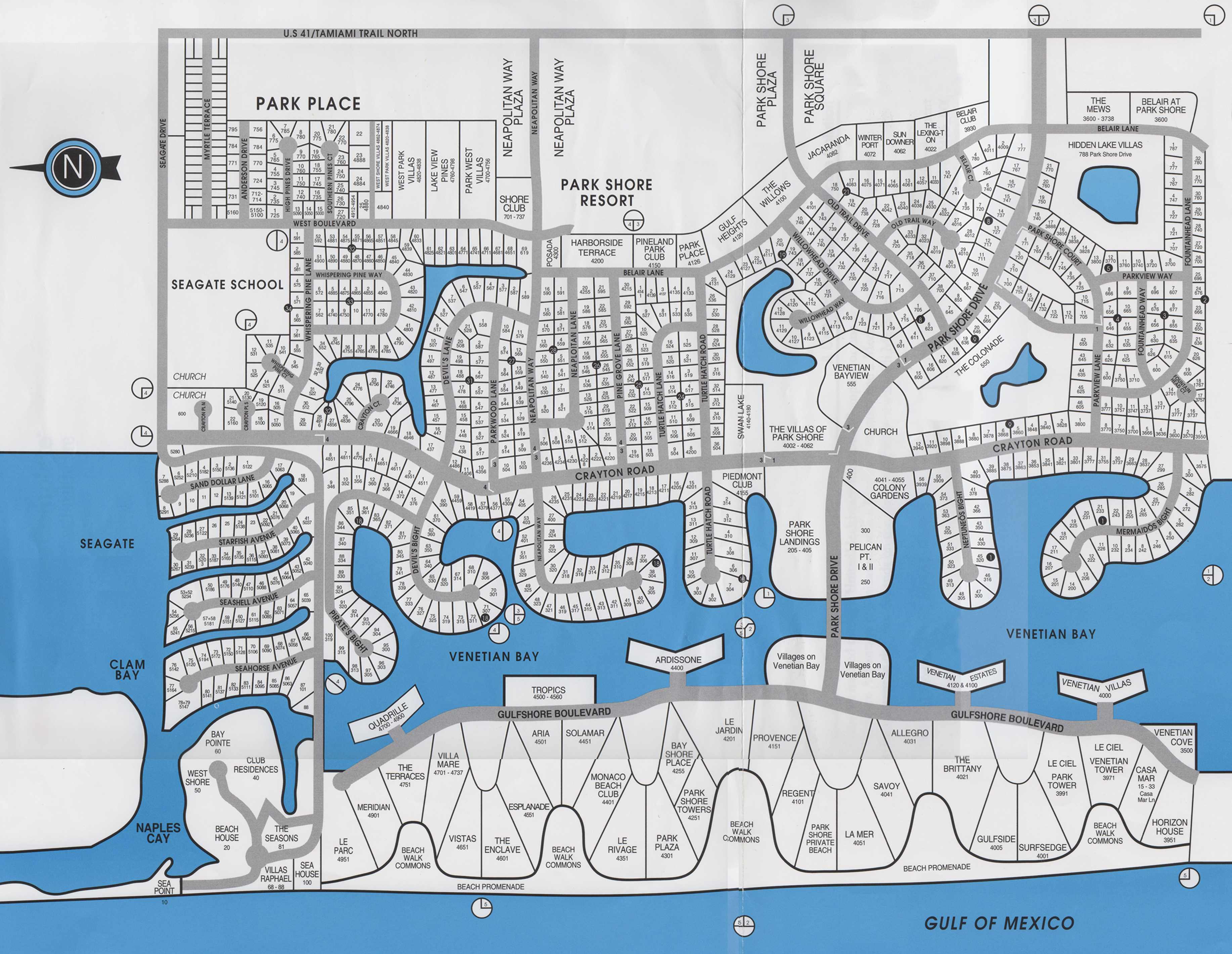 Park Shore Naples Florida - Map Of Naples Florida Neighborhoods