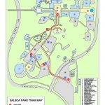 Park Tram | Balboa Park   Map Of Balboa Park San Diego California