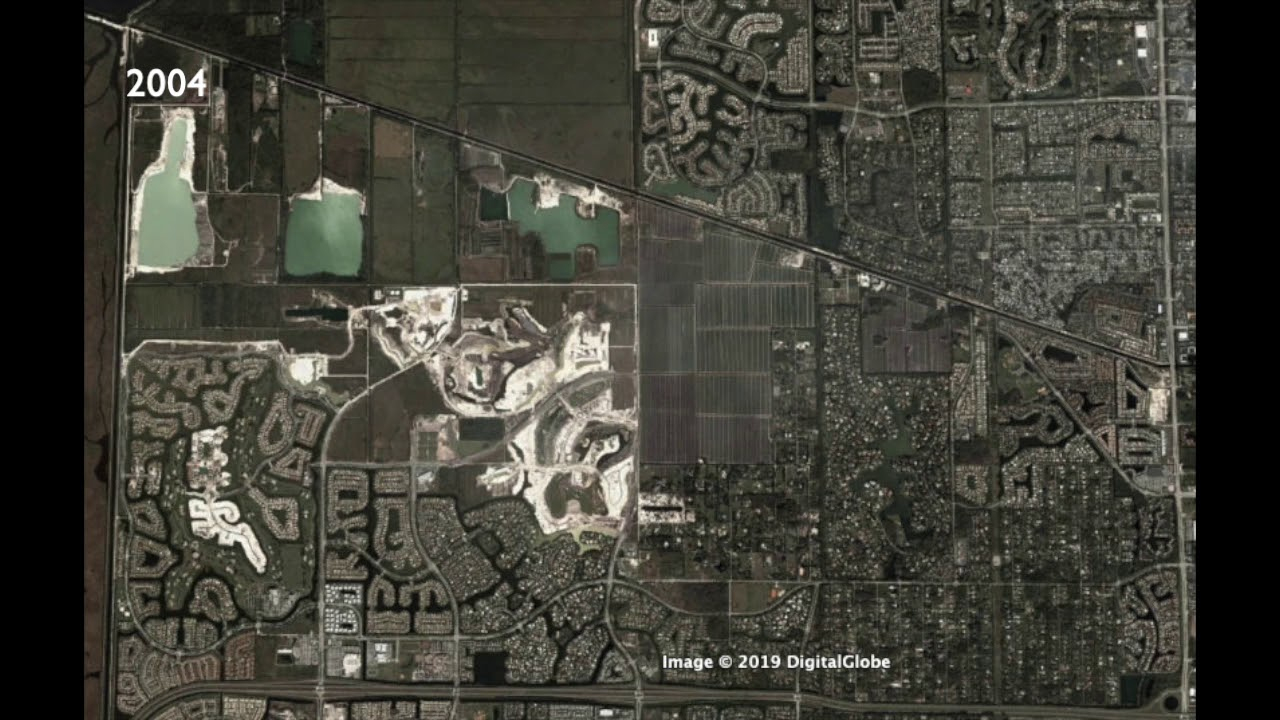 Parkland Florida Map From 1995 - 2019 - Youtube - Parkland Florida Map