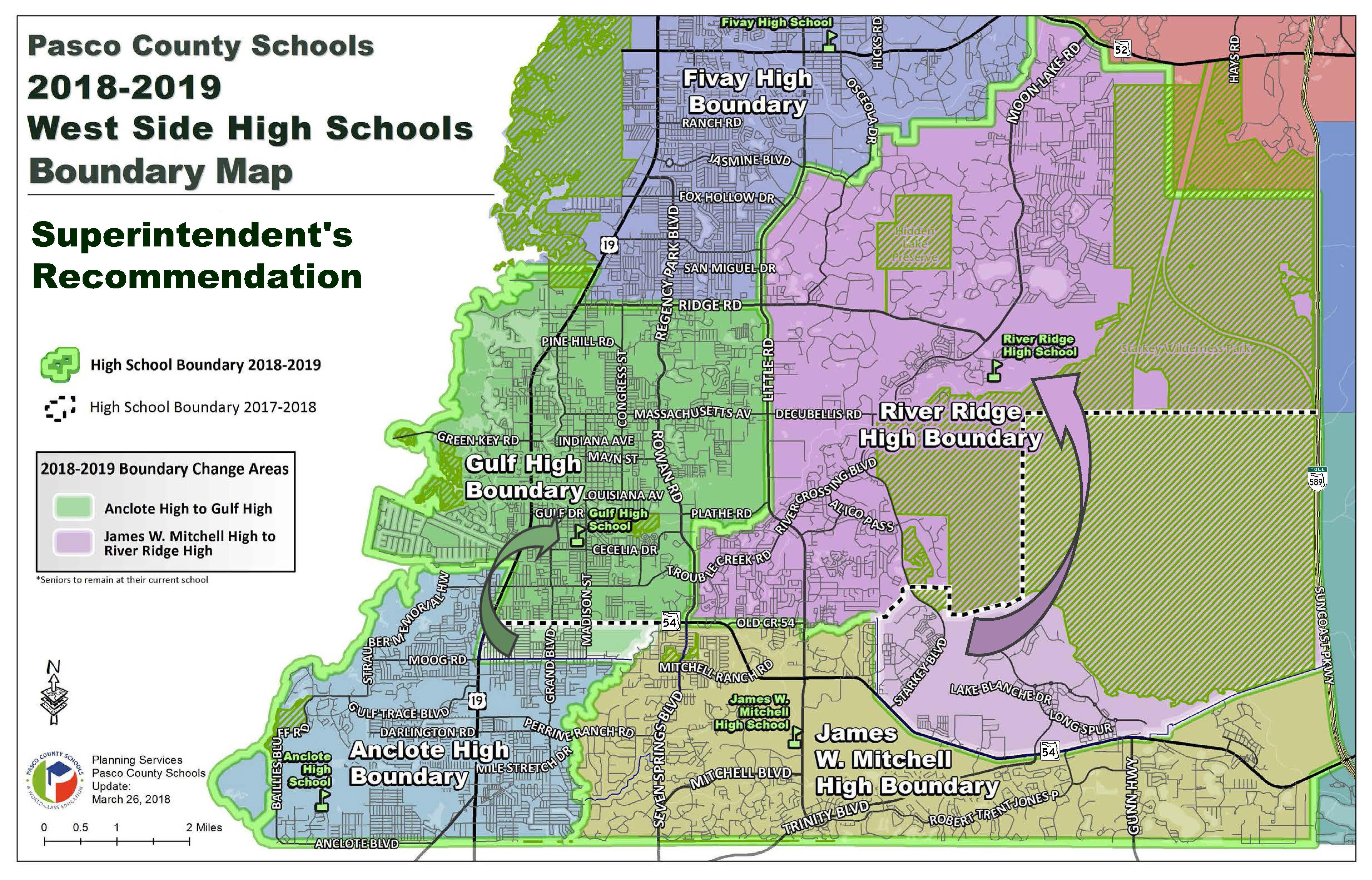 Pasco County Schools - Sexual Predator Map Florida