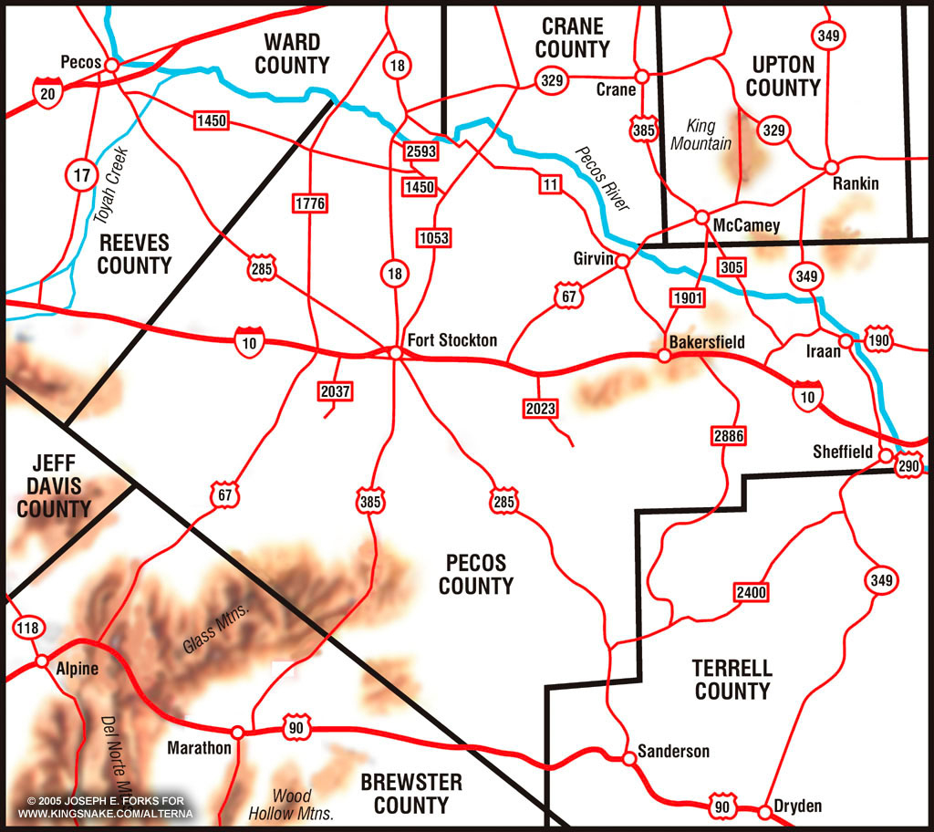 Pecos County Texas Map | Business Ideas 2013 - Pecos Texas Map