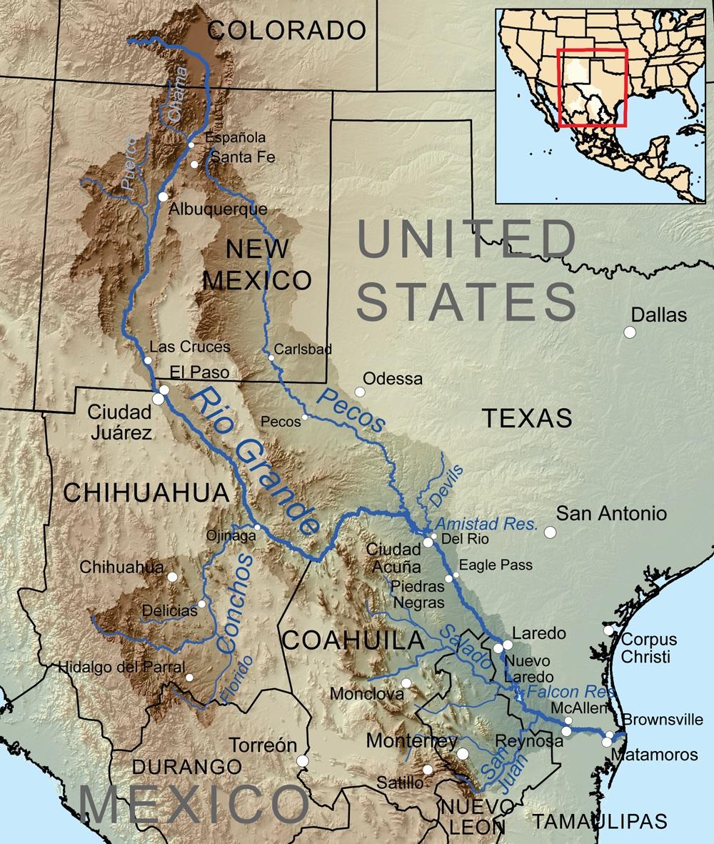 Pecos River | The Handbook Of Texas Online| Texas State Historical - Pecos Texas Map