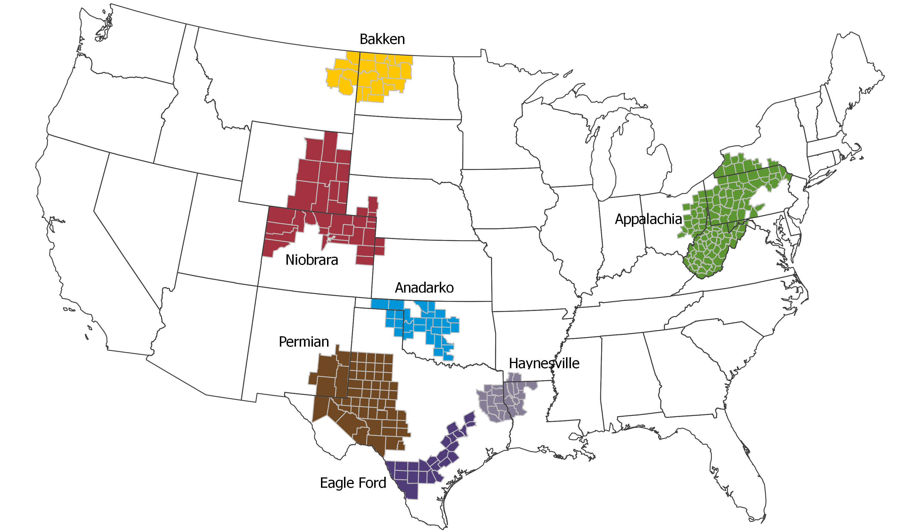 Permian Will Soon Pump Enough Oil To Be Opec's 2Nd Biggest Producer - Permian Basin Texas Map