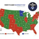 Permit To Carry Maps | Mn Firearms Training   Texas Reciprocity Map 2018