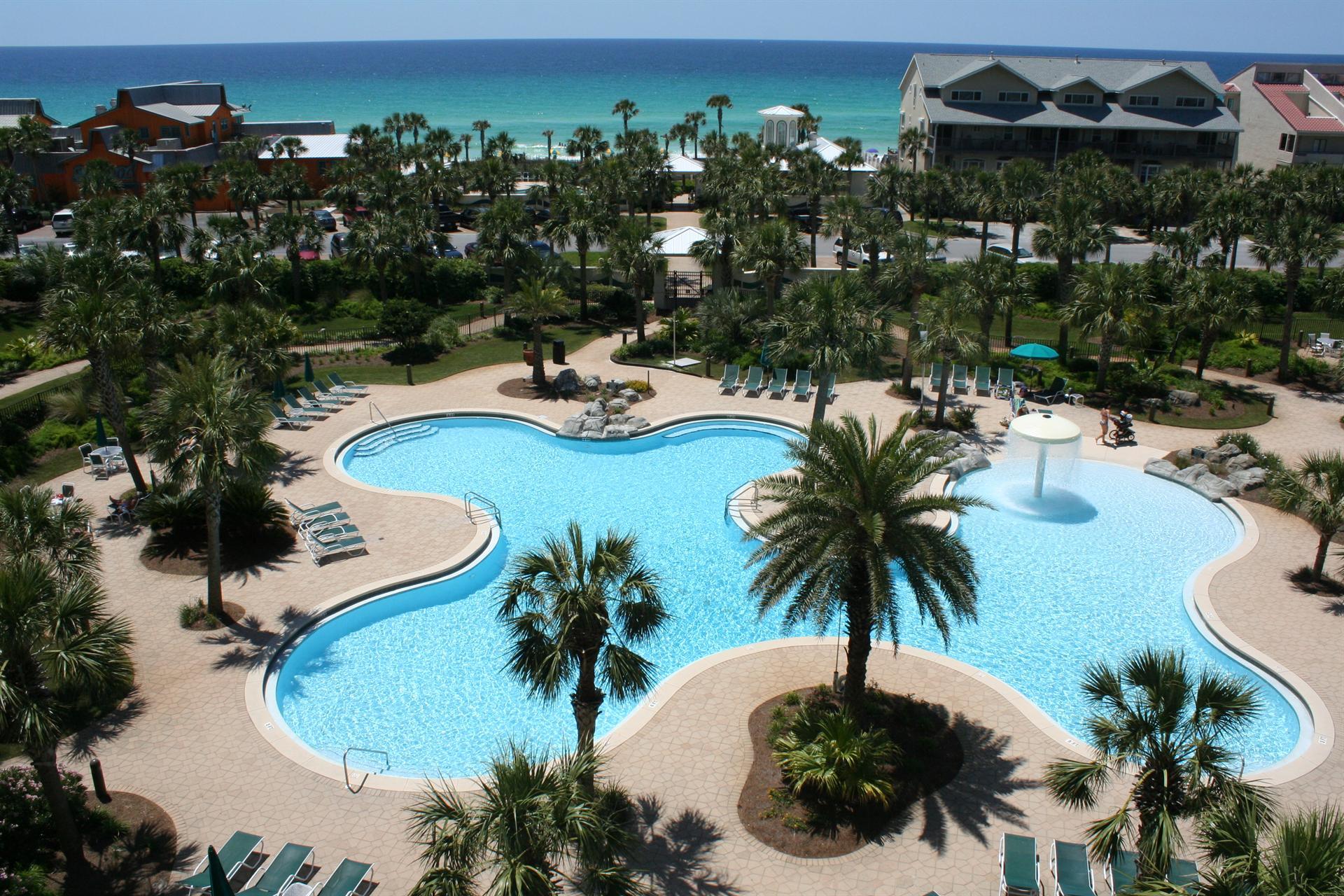 Pet Resort : Destin Florida Map Of Resorts - Map Of Hotels In Destin Florida