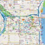 Philadelphia Downtown Map   Printable Map Of Philadelphia