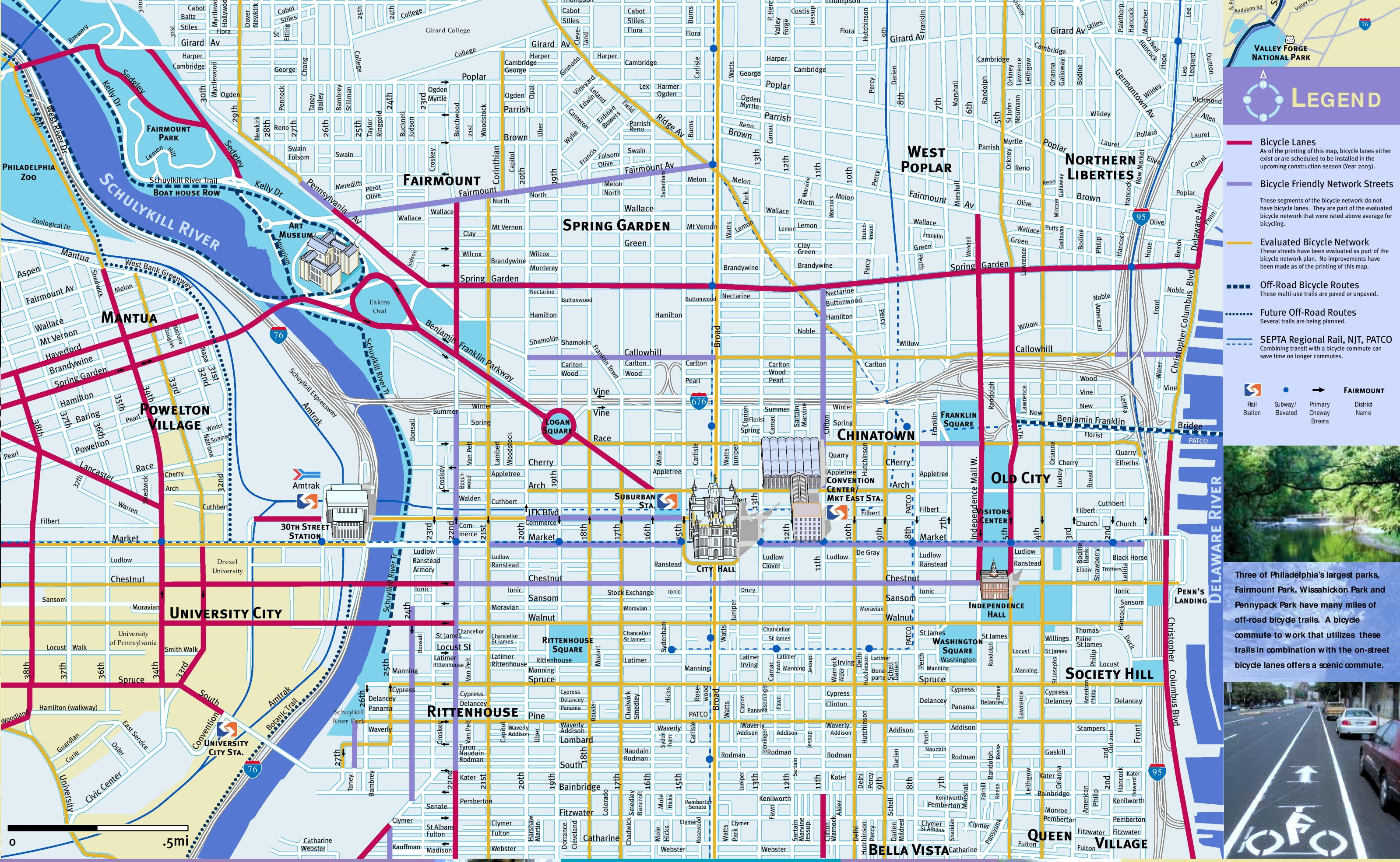 Philadelphia Maps   Pennsylvania, U.s.   Maps Of Philadelphia - Map Of Old City Philadelphia Printable