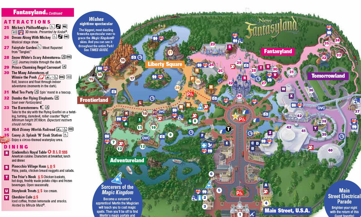 Photo - Storybook Circus On New Magic Kingdom Park Map Today - Magic Kingdom Florida Map