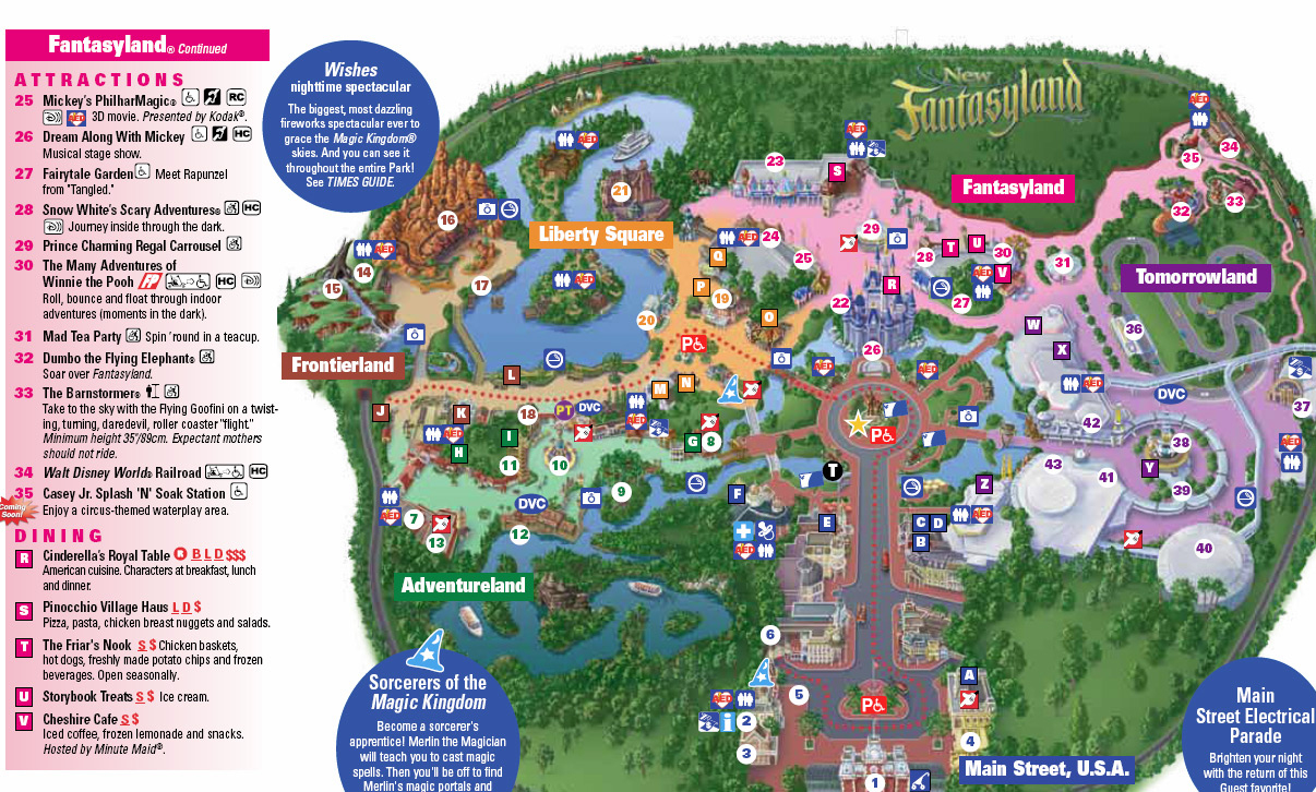 Photo - Storybook Circus On New Magic Kingdom Park Map Today - Magic Kingdom Orlando Florida Map