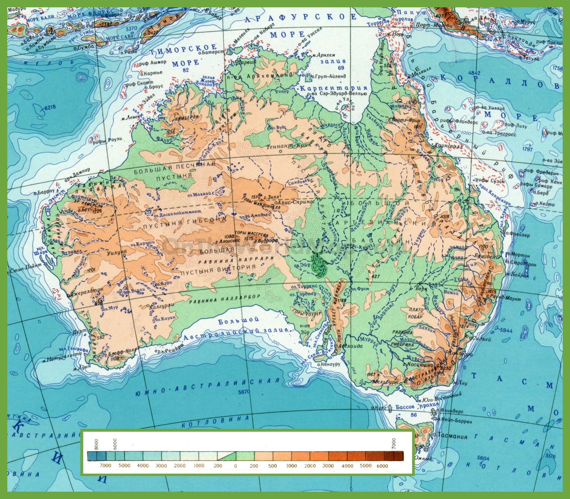 Physical Map Of California Landforms Best Download Australia Valid - California Landforms Map