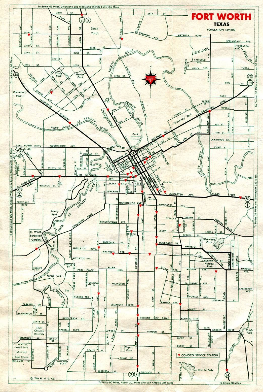 Pinattia Roman On Texas <3 | Texas History, Lone Star State, Old - Street Map Of Fort Worth Texas