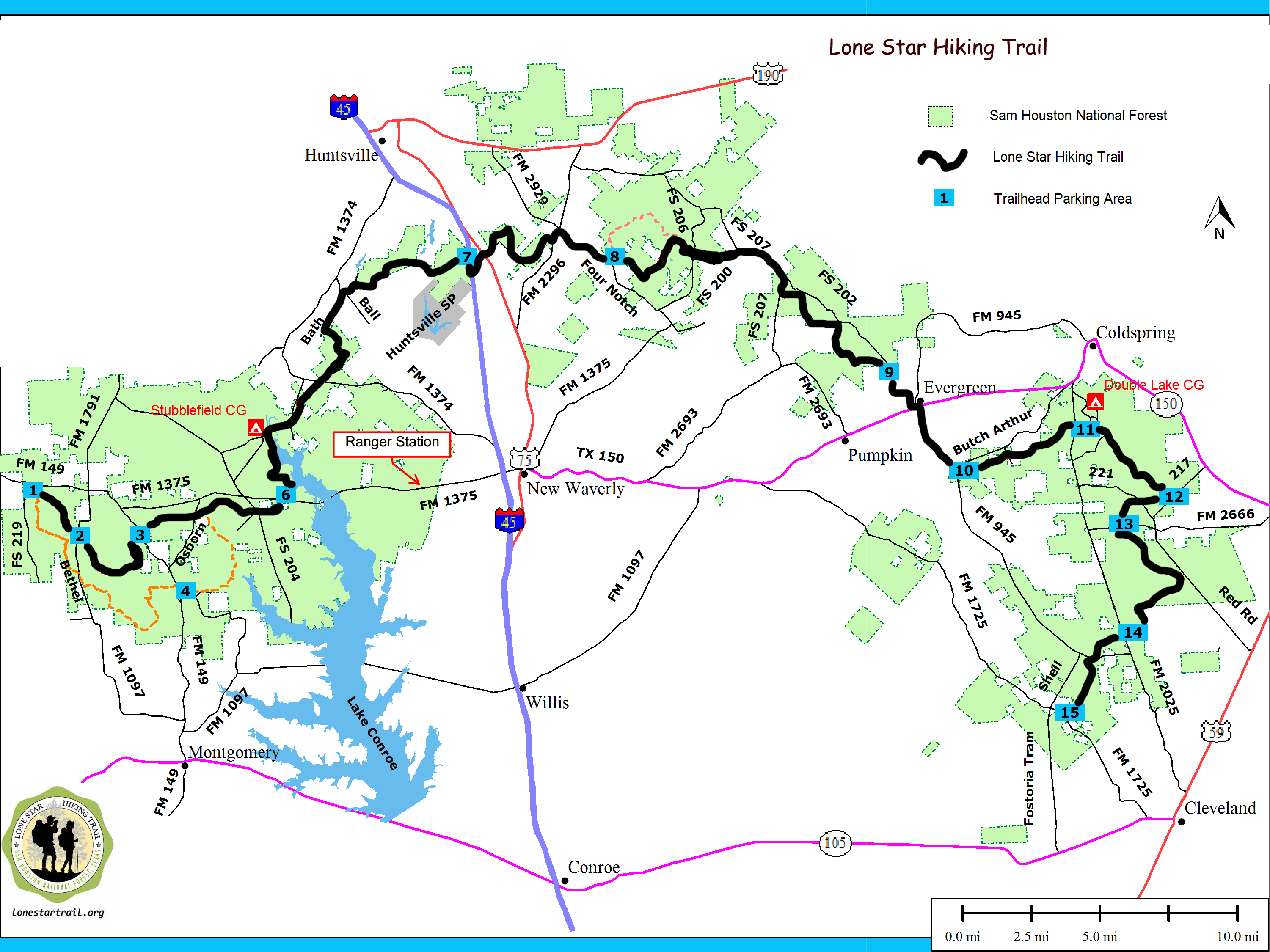 Pincathy Foreman On Outdoor Adventures | Hiking Trail Maps - Texas Trails Maps