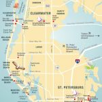 Pinellas County Map Clearwater, St Petersburg, Fl | Travel In 2019   Map Of Florida Beaches