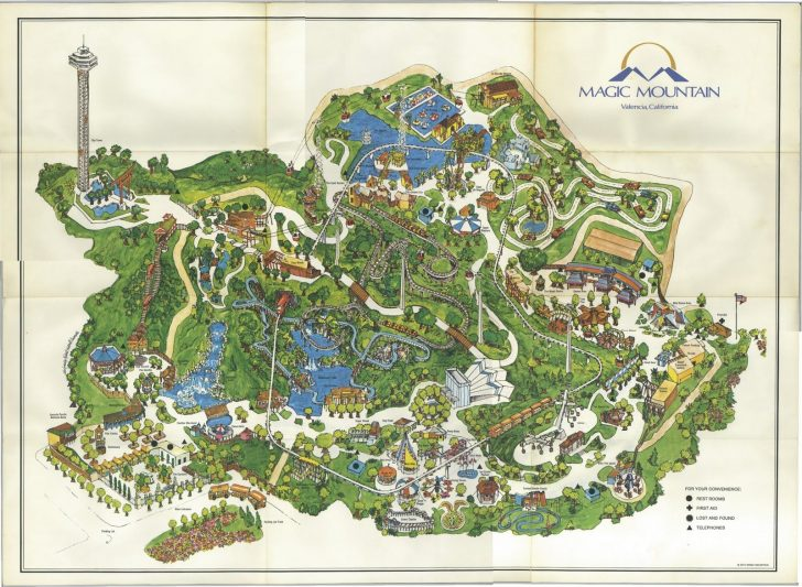 Valencia California Map