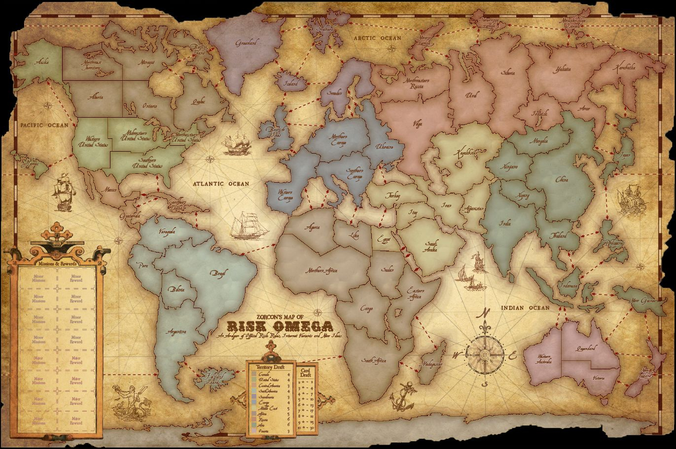 Pinplay Free Online 32 On Play Risk Online | Pinterest | Board - Risk Board Game Printable Map