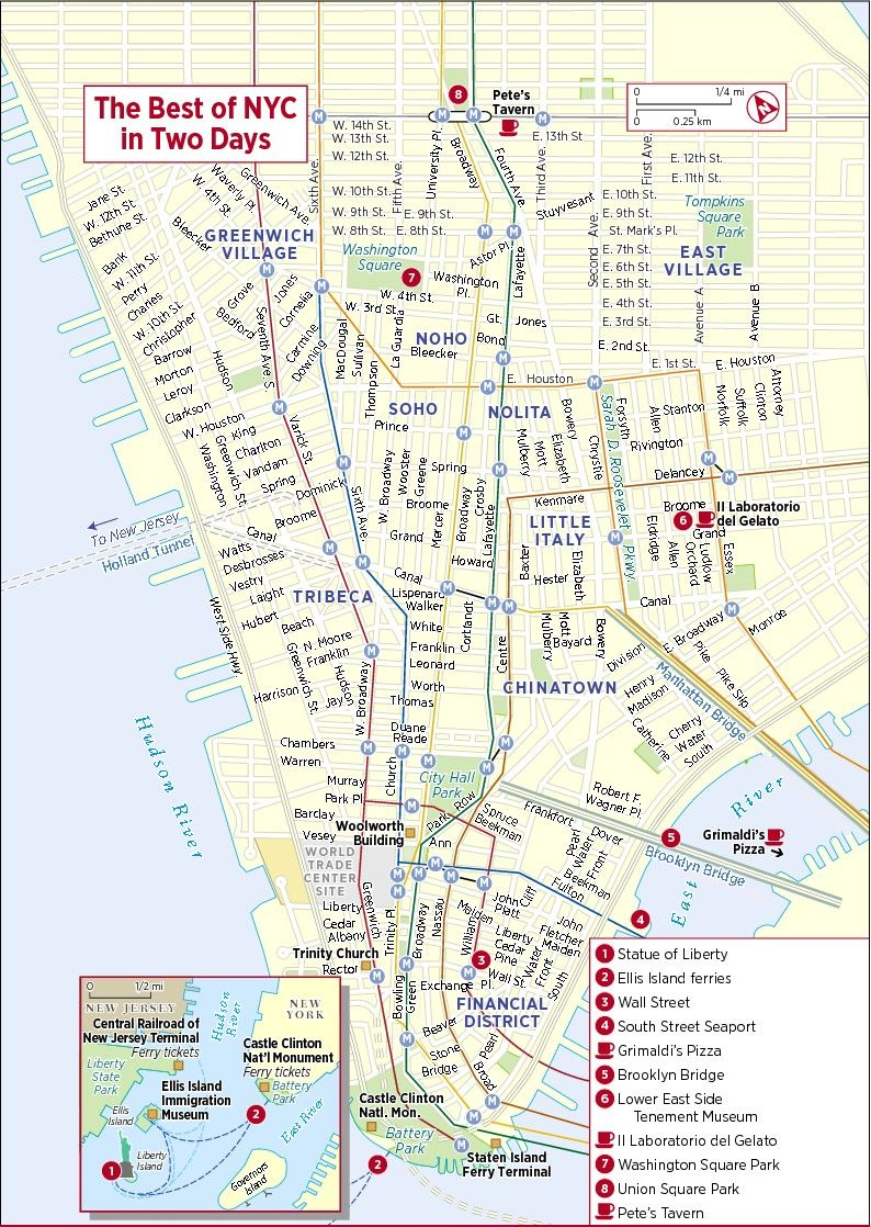 Pinsandy M On U.s. Travel | Pinterest | Map Of New York, New - Printable New York City Map With Attractions