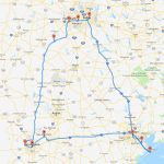 Places Missed On The 'perfect' Texas Road Trip Map   Roadloans   Texas Road Map 2018