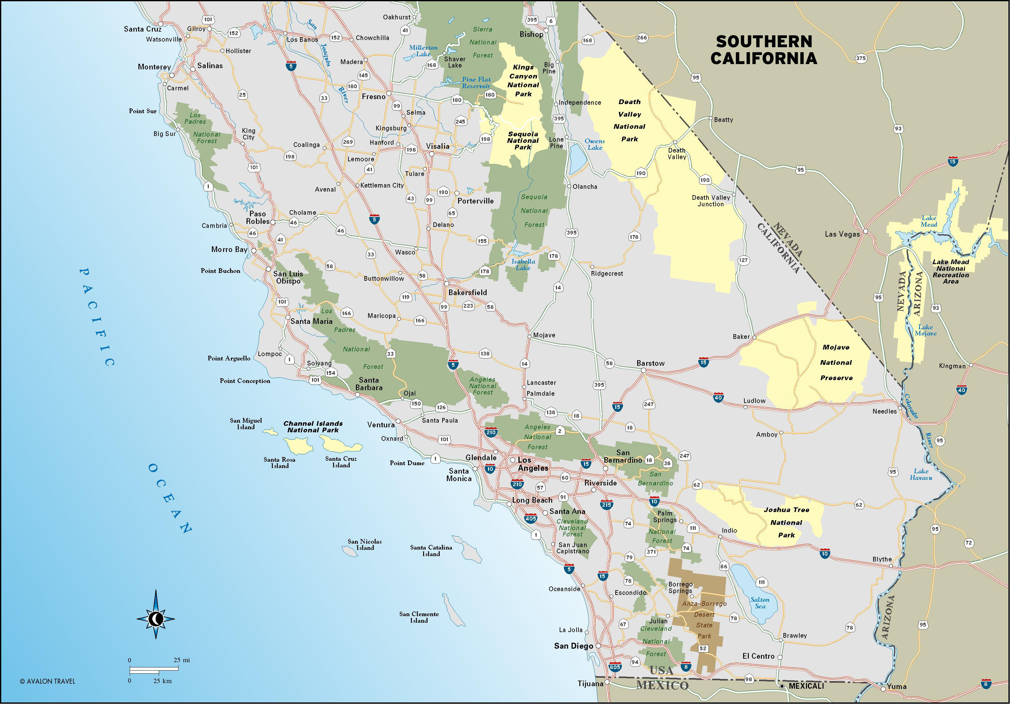 Plan A California Coast Road Trip With Flexible Itinerary Inside Map - Best California Road Map
