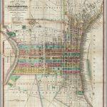Plan Of The City Of Philadelphia   David Rumsey Historical Map   Printable Map Of Historic Philadelphia