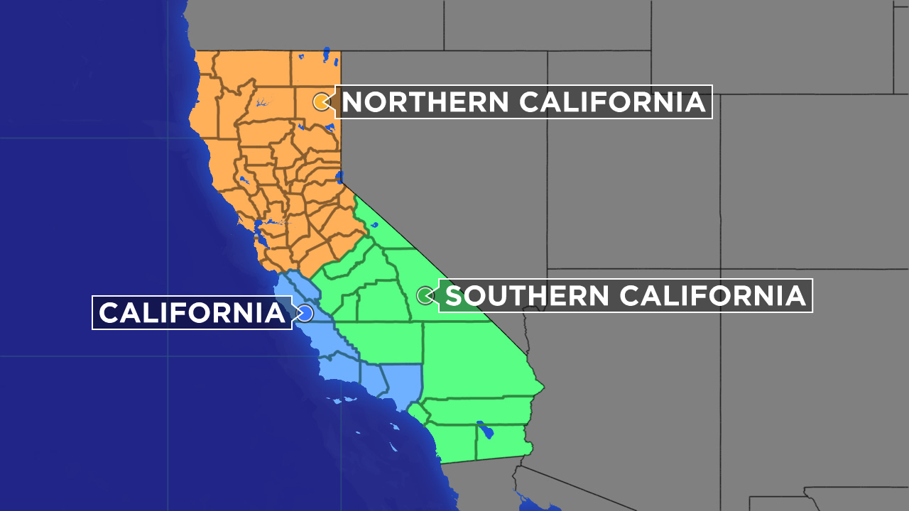 Plan To Divide California Into 3 New States Clears First Hurdle - Divide California Map