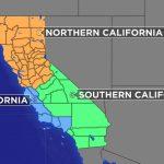 Plan To Split California Into 3 States Eligible For November Ballot   New California Map 3 States