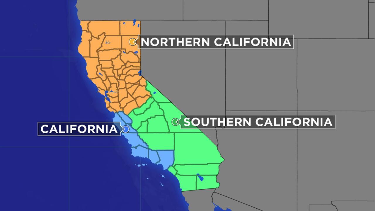 Plan To Split California Into 3 States Eligible For November Ballot - New California Map 3 States