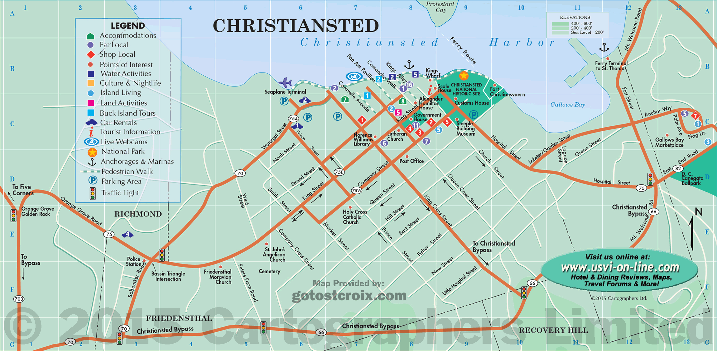 Plan Your Travel, Island Maps Of St. Croix | Gotostcroix - Printable Map Of St Croix