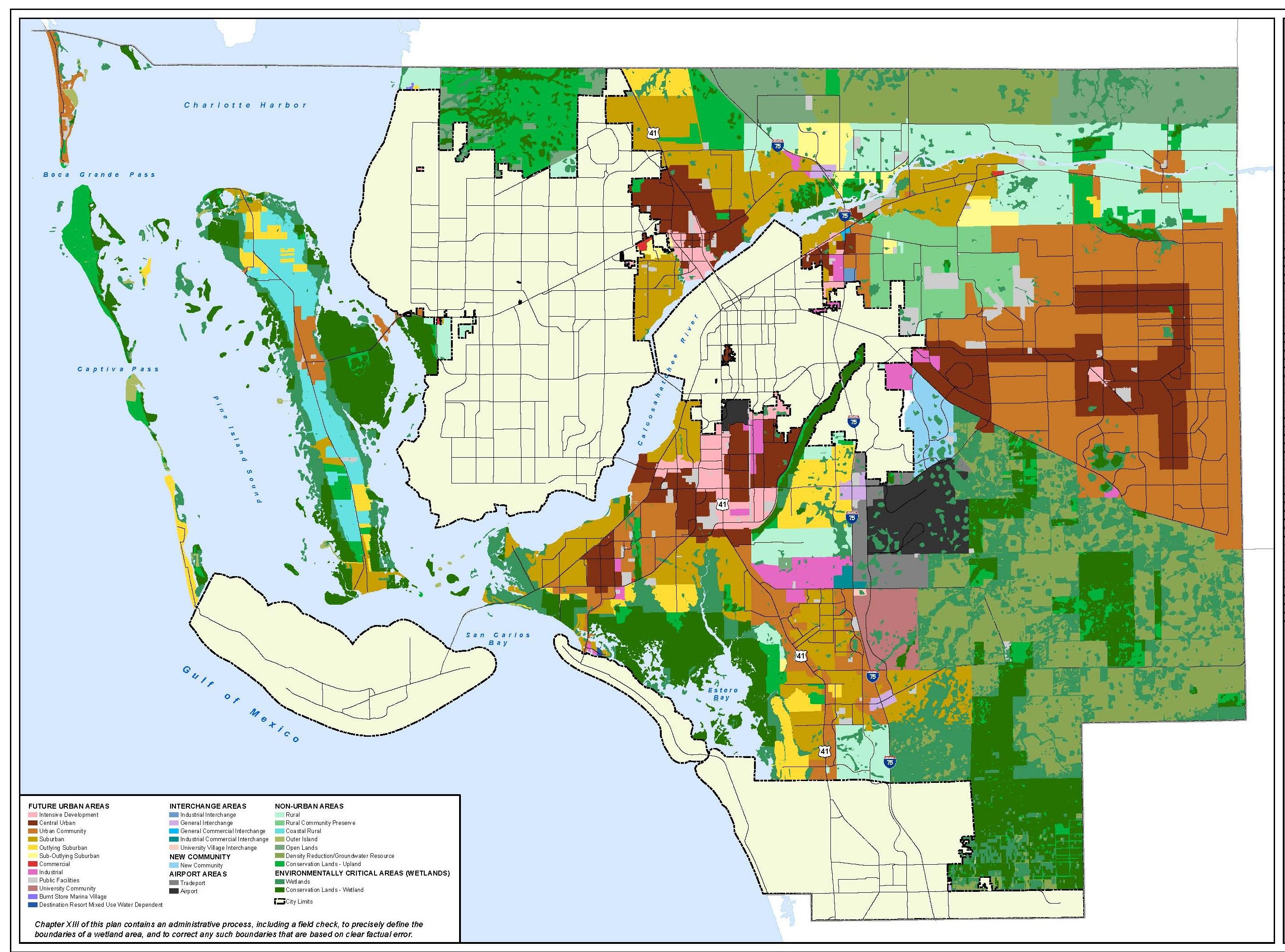 Planning - Florida Land Use Map