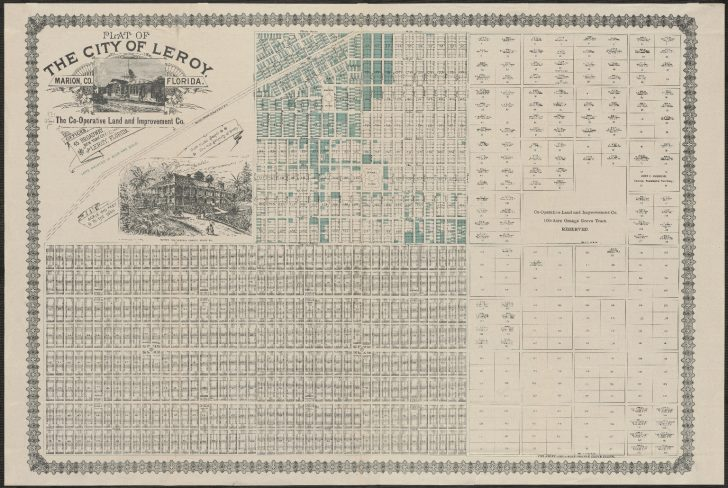 Marion County Florida Plat Maps