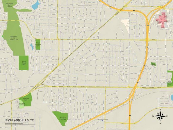 Richland Hills Texas Map