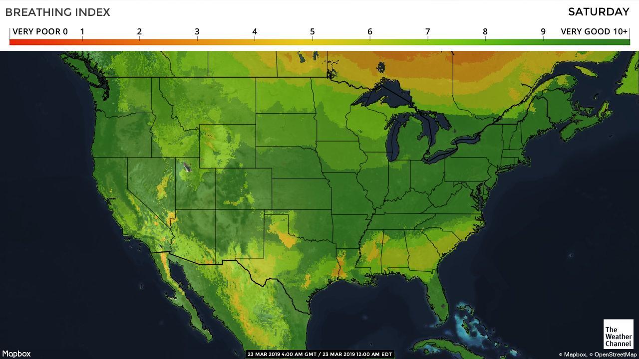 Pollen Count And Allergy Info For Dallas, Tx - Pollen Forecast - Allergy Map Texas