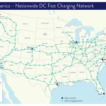 Porsche Taycan Owners Will Get Three Years Free Charging At Hundreds   Dc Fast Charging Stations California Map