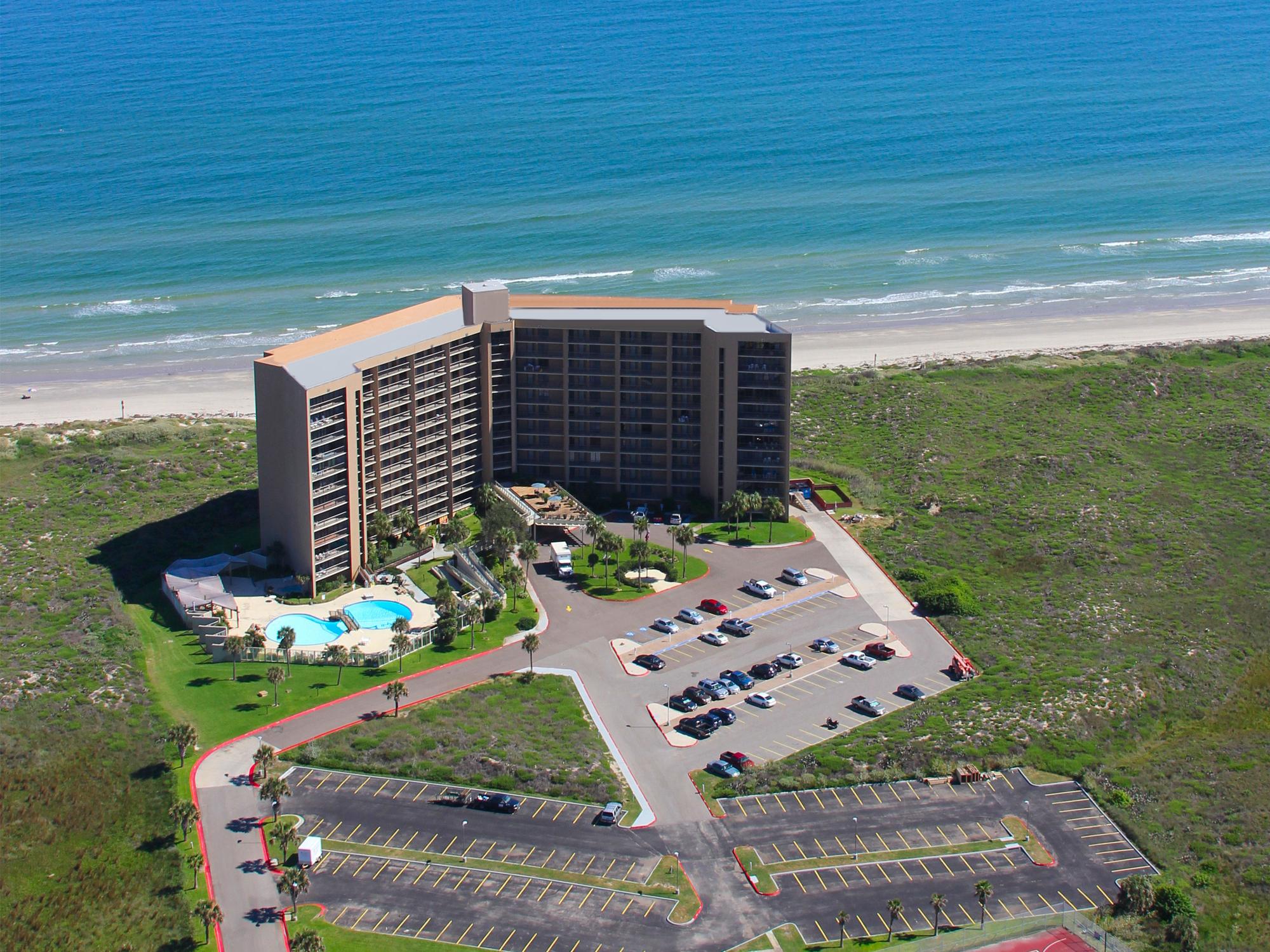 Port Aransas Beachfront Resorts   Portaransas-Texas - Map Of Hotels In Port Aransas Texas