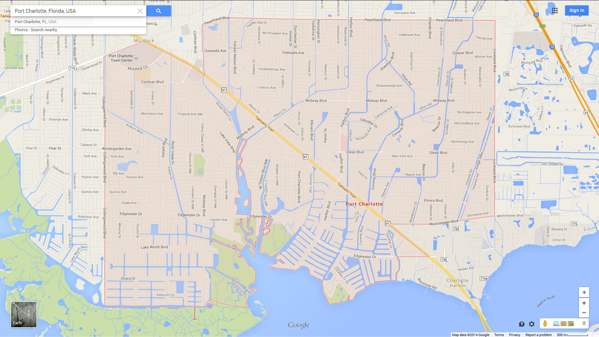 Port Charlotte Florida Map - Where Is Port Charlotte Florida On A Map