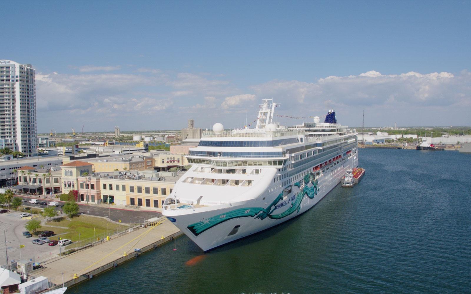 Port Of Tampa Bay Official Information - Cruise Terminal Tampa Florida Map