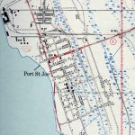 Port St. Joe, 1943   St Joe Florida Map