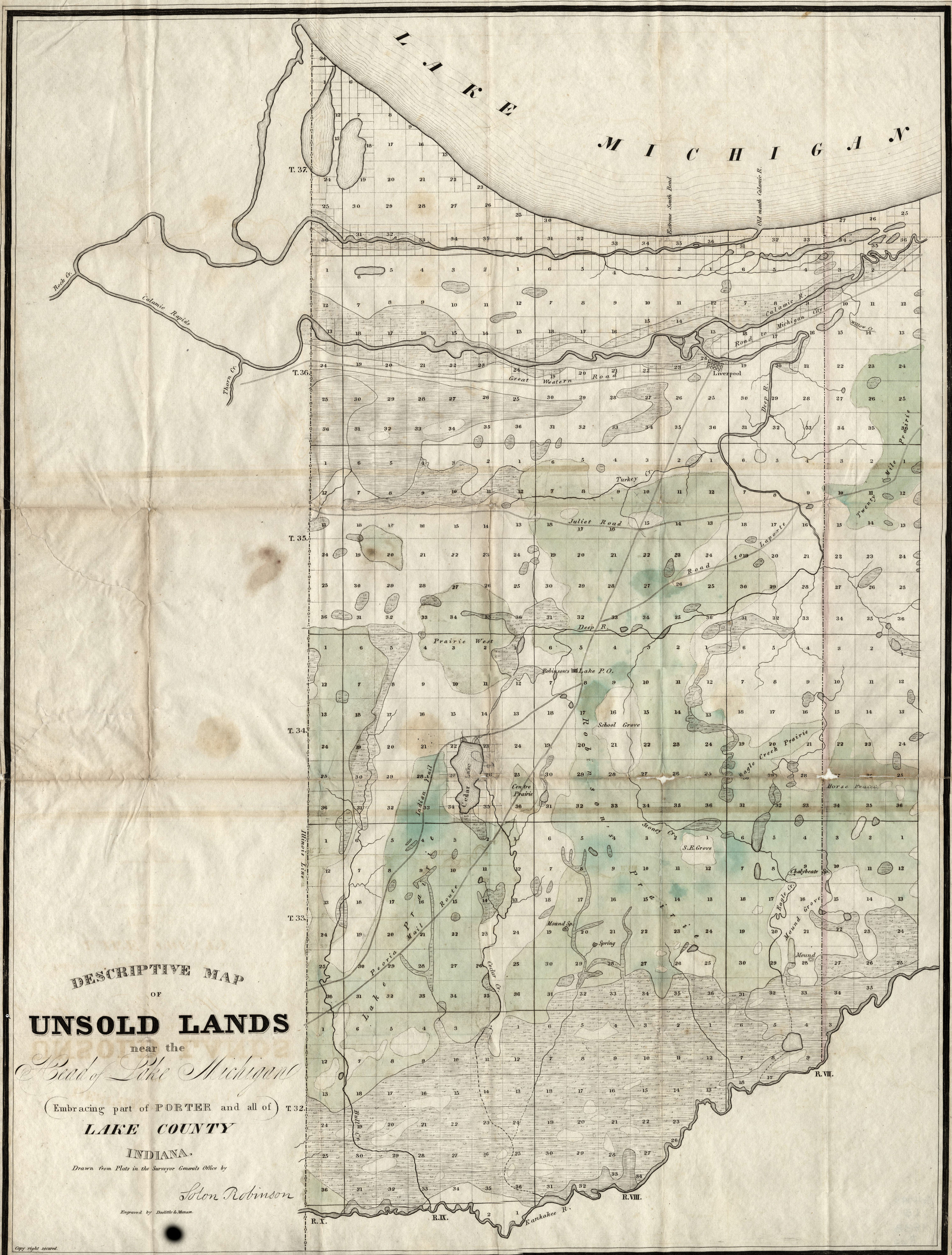 Porter County, Indiana, Genweb - Maps - Jackson County Florida Parcel Maps