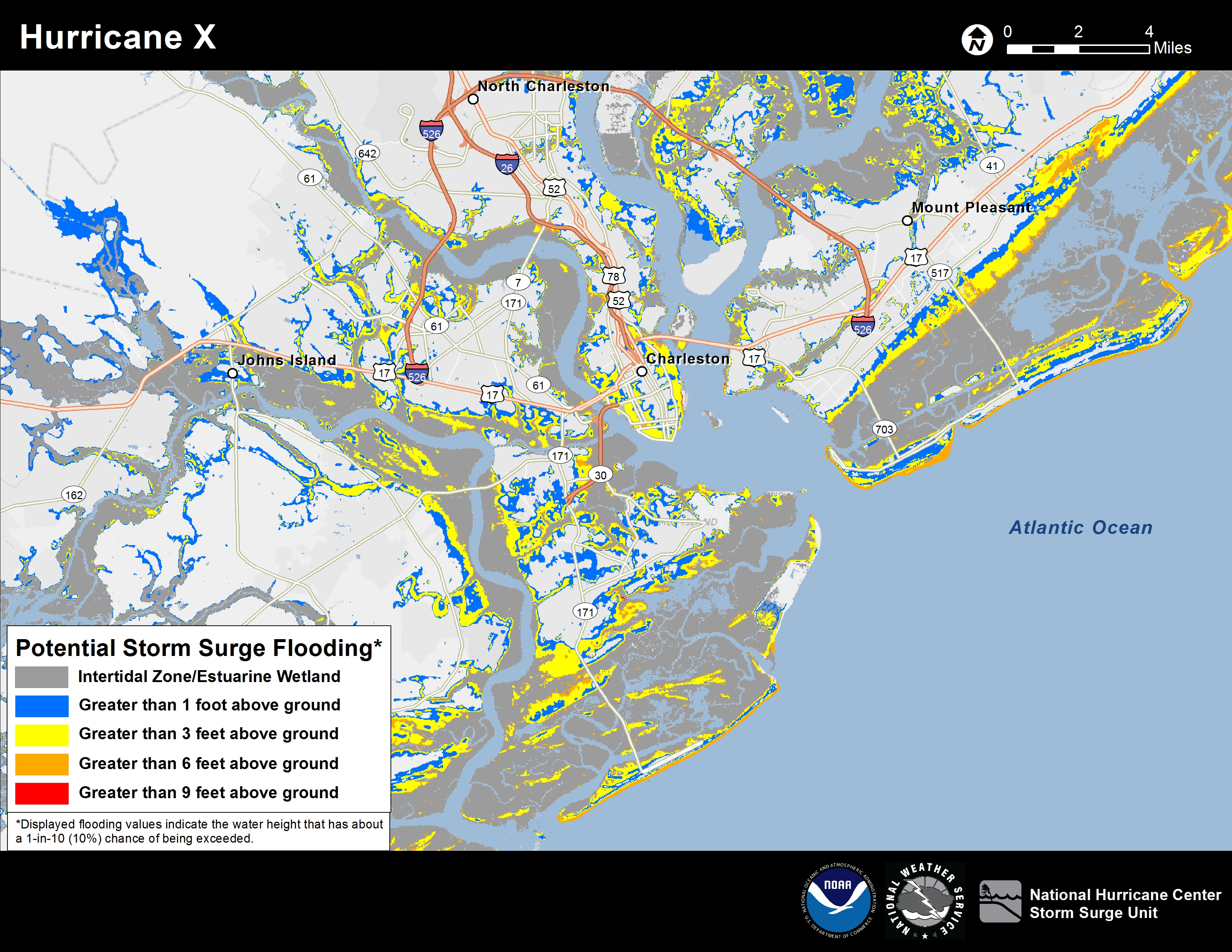 Potential Storm Surge Flooding Map - Fema Flood Maps St Johns County Florida